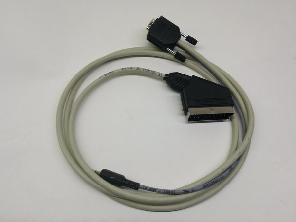 Cable RGB SCART ZX-UNO VGA 2M, MIST and MiSTER.